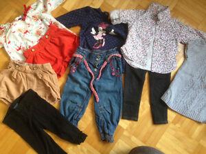 Vêtements fille 12 mois et plus