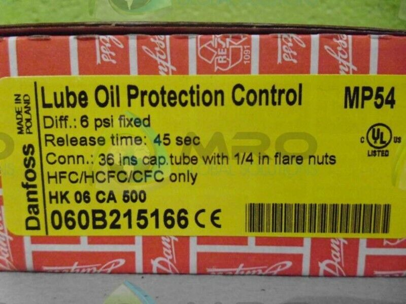 DANFOSS 060B215166 PROTECTION CONTROL *NEW IN BOX*