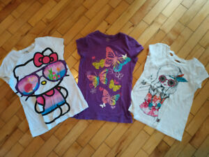 10 pieces girl summer clothing lot  - size 7/8