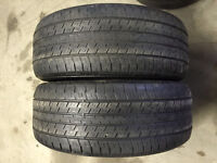 2 Continental 4X4 Contact – 235/55/17 – 50% - $40