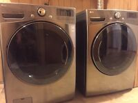 LG  Stainless Washer & Dryer