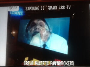 """SAMSUNG SMART 3D TV 55"""" inches, excellent condition $625"""