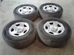 2007 Ford F 150 rims and tires