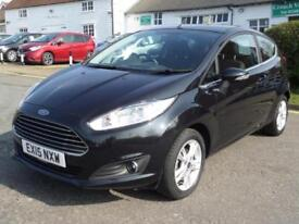 Ford Fiesta 1.25 (82ps) 2015 Zetec, SUPERB COND, VERY LOW MILEAGE,