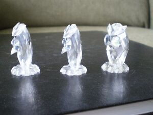 "Swarovski Crystal Figurines - "" Owls "" -  #7654 Kitchener / Waterloo Kitchener Area image 2"