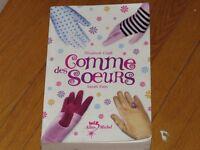 livre roman COMME DES SOEURS/E.CRAFT-S.FAIN littérature auteure