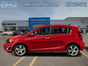 2016 Chevrolet Sonic LT  - Certified - $97.69 B/W - Low Mileage