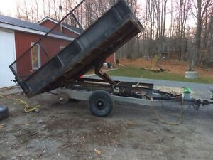 12x8 tandem dump trailer Kawartha Lakes Peterborough Area image 2
