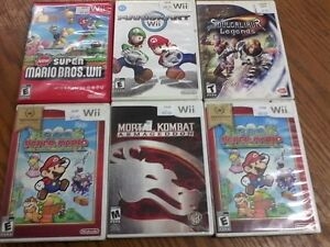 Assorted Wii Games $5.00 and Up