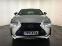 2015 LEXUS NX 300H 2.5 F SPORT AUTO 1 OWNER SERVICE HISTORY FINANCE PX WELCOME