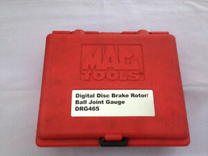 MAC TOOLS DIGITAL DISC BRAKE ROTORS/ BALL JOINT DIAL INDICATOR