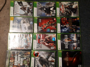 Xbox 360 games. $5 each 5/$20