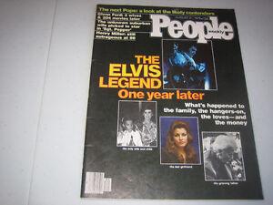 ELVIS PRESLEY - FEATURE - PEOPLE WEEKLY - AUGUST 21, 1978
