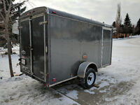 6'x12' Enclosed Trailer Available for Moving Items