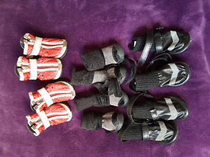 2 Parkas and 3 pairs of boots (dogs) Kitchener / Waterloo Kitchener Area image 2
