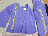 Dress/suit with trousers, size 2 - 8.  Brand New.