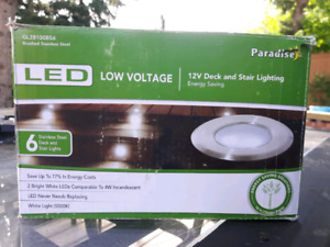 Paradise Low Voltage LED Deck and Stair Lights