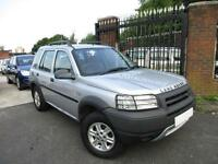 2002 LAND ROVER FREELANDER 2.0 TD4 GS 5DR