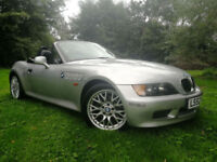 2002 BMW Z3 1.9i MSport Roadster Full Black Leather