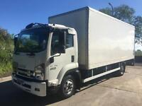2014 14 ISUZU F110.210 Euro 6, 20ft grp box, column tail-lift, 11t GVW