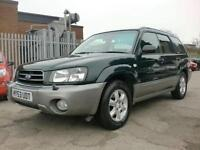 2003 53 SUBARU FORESTER 2.0 X ALL WEATHER 5D 125 BHP