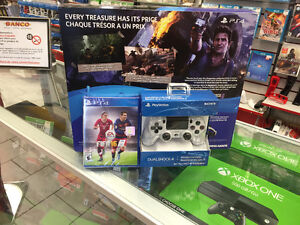 Ps4 uncharted 4 slim 500gb with 2 dualshock all brand new