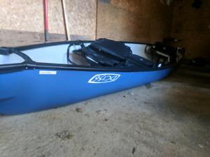 Ascend dc156 canoe