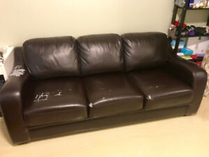 Comfortable sofa bed / couch (queen-size)