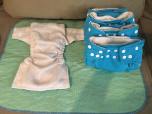 Cloth diapers — size NB to 3 years
