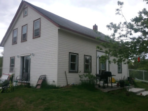 Farm house on 10acres of river front  private location  NS ,