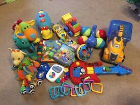 Baby Toy Bundle vtech little tykes soft toys