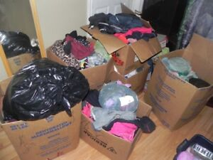 Huge clothing lot ,a lot of name brands, Pink,calvin,adidas