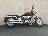 HARLEY-DAVIDSON SOFTAIL FLSTFI FATBOY FUEL INJECTED 1 OWNER 2004 04