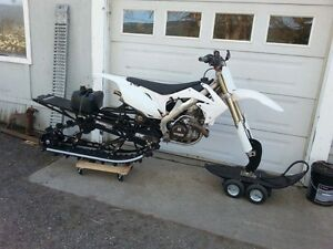 2010 CRF450R & Timbersled $8,600.00