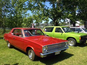 1966 2 DR Hard top Plymouth Valiant