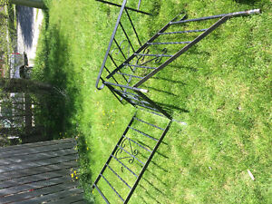 Iron railing about 16ft