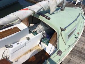 Sirocco sailboat,