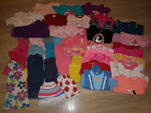 Baby Girl 12 Month Summer Clothes Lot