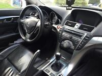 Acura Tl 6 speed manual Pearl White