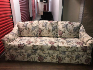 Beautiful Flower COUCH and Chair--Free delivery