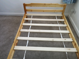 IKEA single pine bed