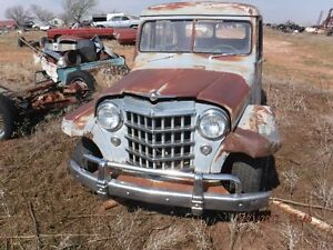1951 Willys station wagon project