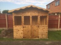 8ft x 6ft summerhouse/ shed/ garden building