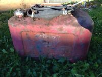 Mercury outboard gas tank