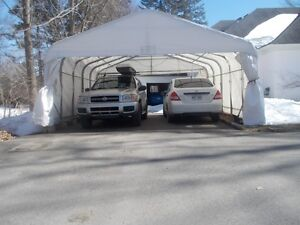 Double Car Winter Shelter