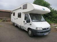 McLouis Tandy 640 - 6 Berth Family Motorhome With Rear Bunk Beds For Sale