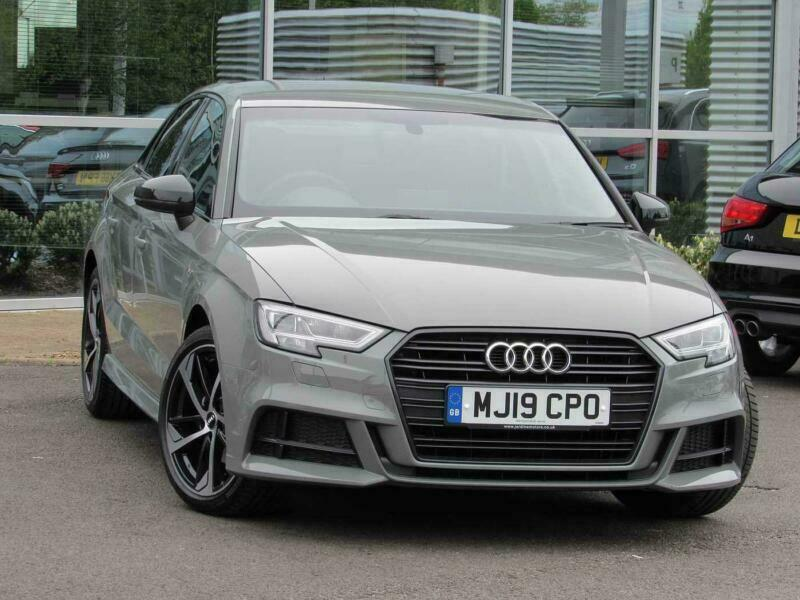 2019 Audi A3 Saloon Black Edition 30 Tfsi 116 Ps S Tronic Petrol