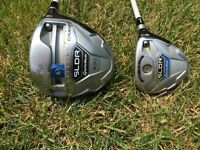 Taylormade SLDR driver and 3wood