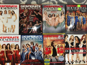 Complete desperate housewives series dvd