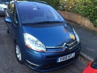 2010 Citroen C4 Grand Picasso Exclusive 7 seater 1.6 EGS hdi 12 months MOT